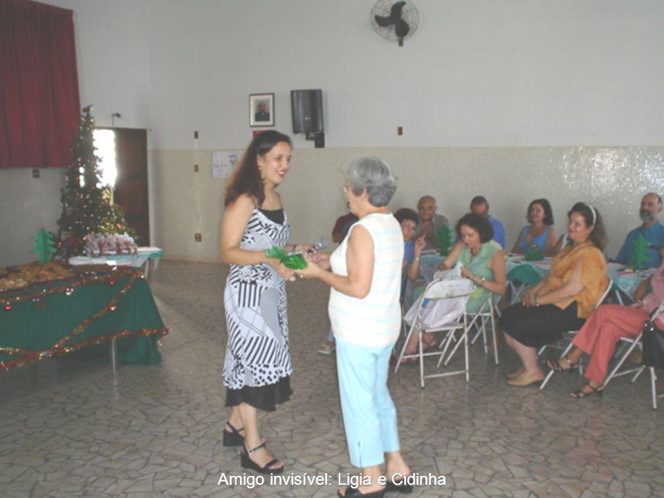Amigo invisível: Ligia e Cidinha