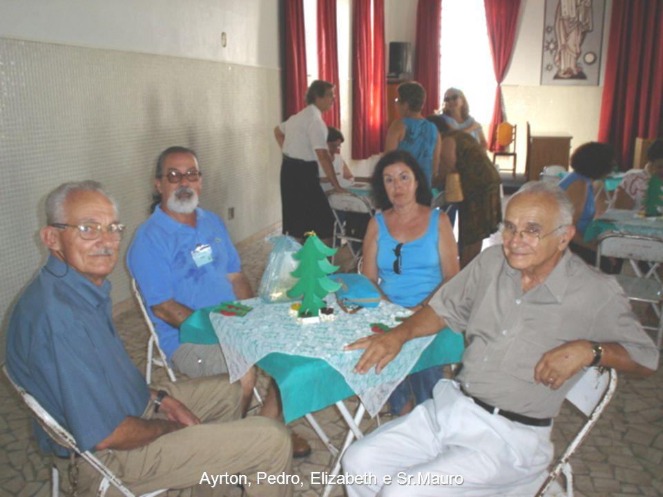 Ayrton, Pedro, Elizabeth e Sr.Mauro