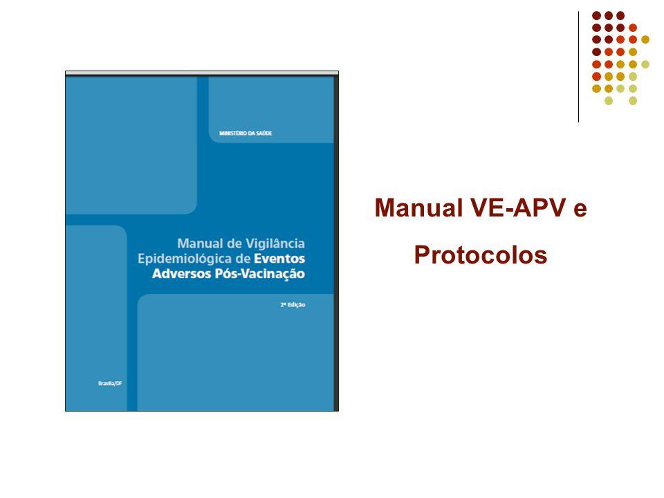 Manual VE-APV e Protocolos