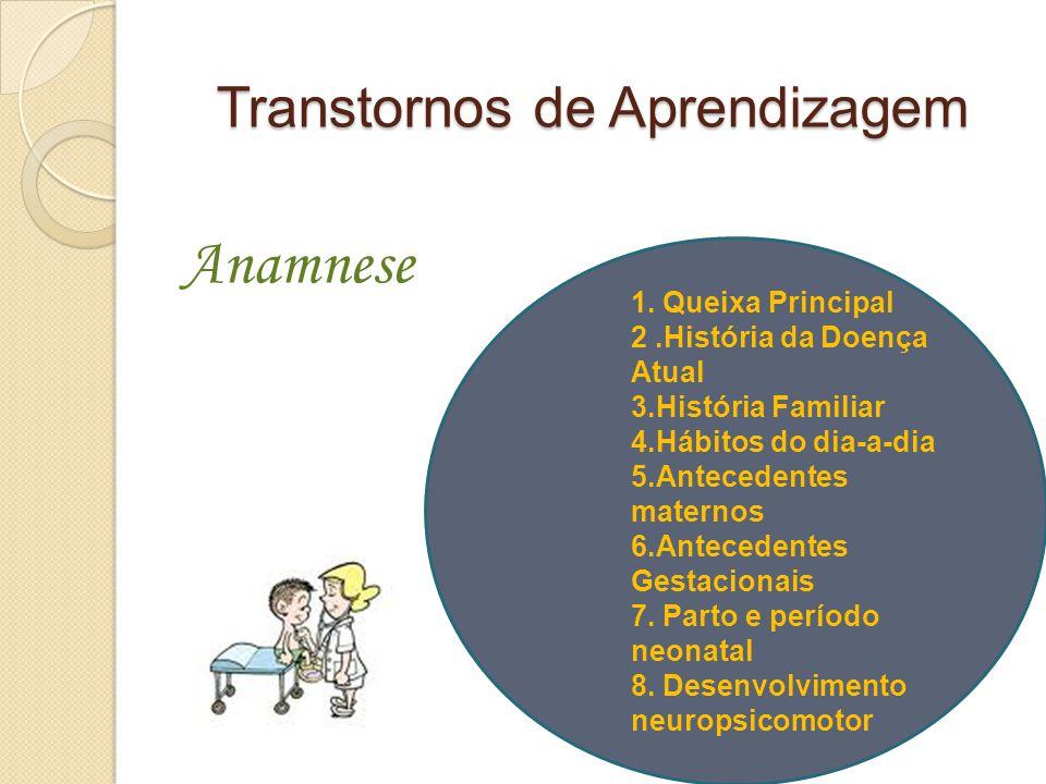 Transtornos de Aprendizagem 1.