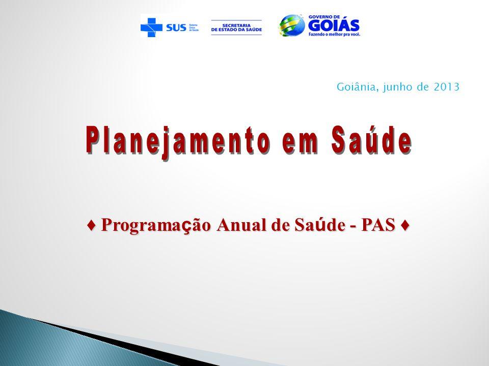 A Programação Anual de Saúde é o instrumento que operacionaliza as intenções expressas no Plano de Saúde.