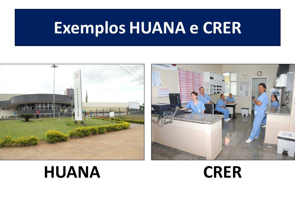 Exemplos HUANA e CRER HUANACRER