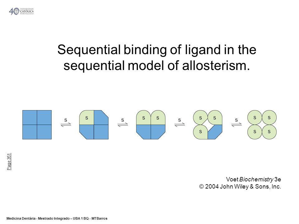 DEPARTAMENTO DE CIÊNCIAS DA SAÚDE Medicina Dentária - Mestrado Integrado – UBA 1 BQ - MTBarros 28 Regulação da fosforilase do glicogénio Regulação de Enzimas - Modificação covalente Enzimas: Regulação A regulação da glicogénio sintase e da glicogénio fosforilase, ocorre através de um ciclo de fosforilação e desfosforilação de resíduos de Ser