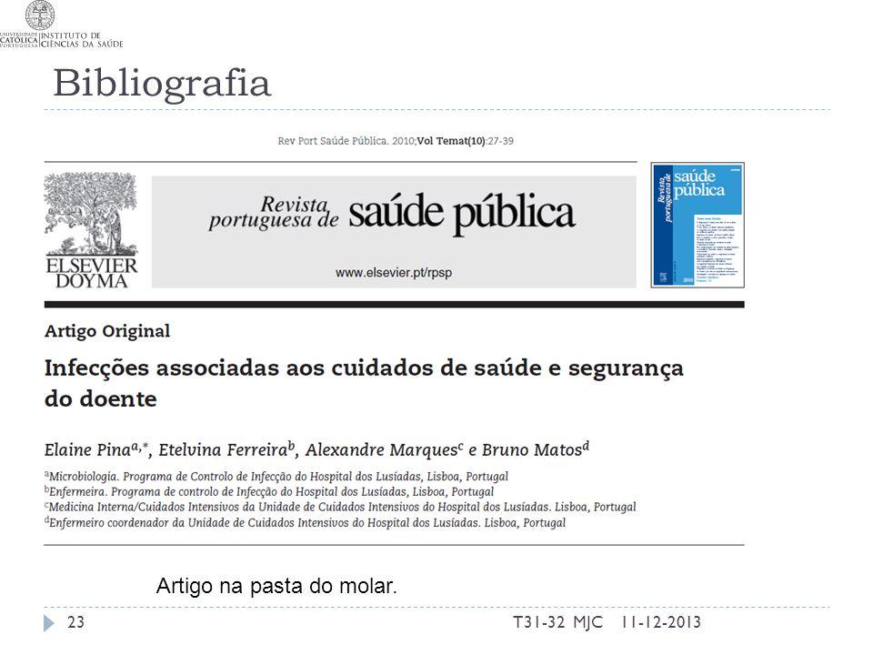 Bibliografia T31-32 MJC2311-12-2013 Artigo na pasta do molar.
