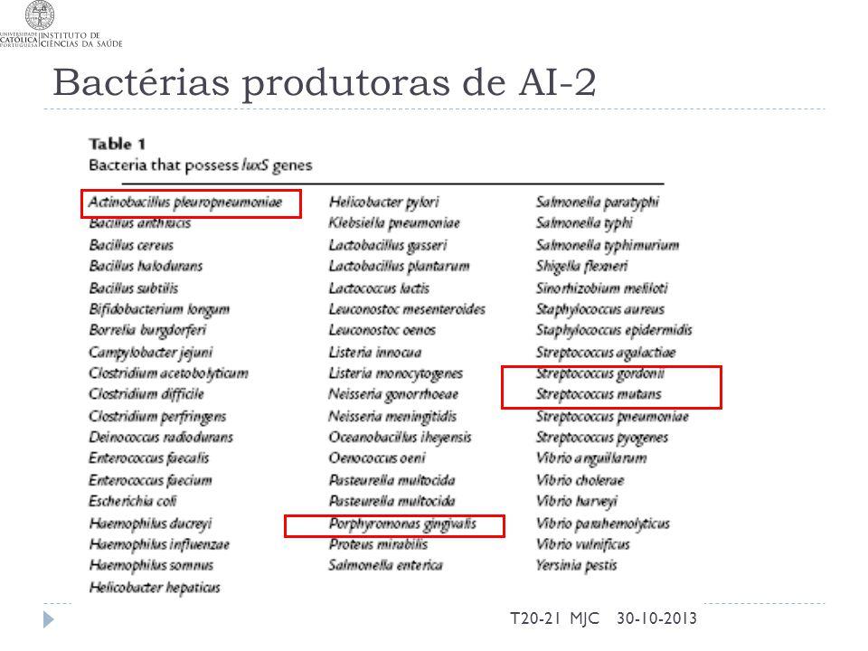 Bactérias produtoras de AI-2 30-10-2013T20-21 MJC