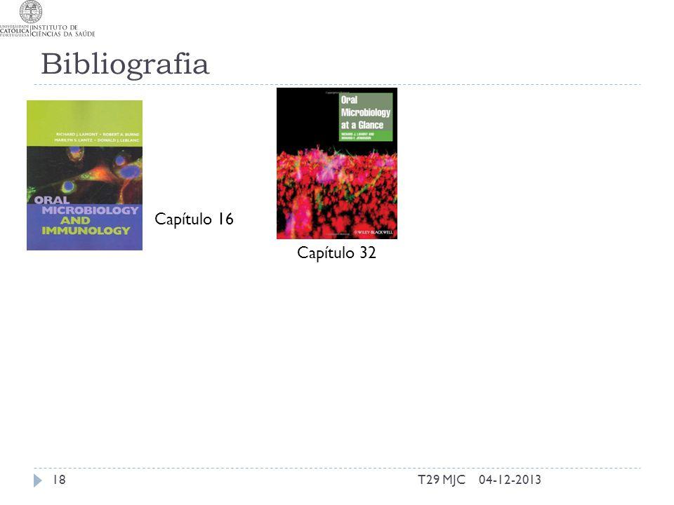 Bibliografia T29 MJC1804-12-2013 Capítulo 16 Capítulo 32