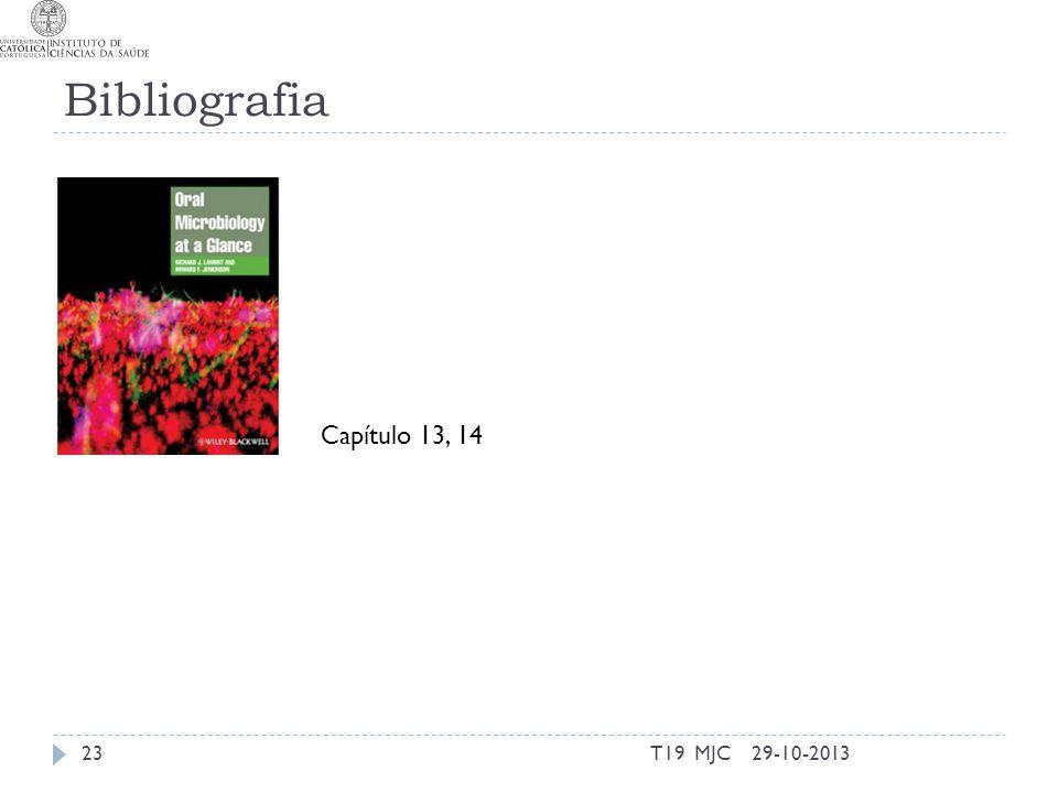 Bibliografia T19 MJC2329-10-2013 Capítulo 13, 14