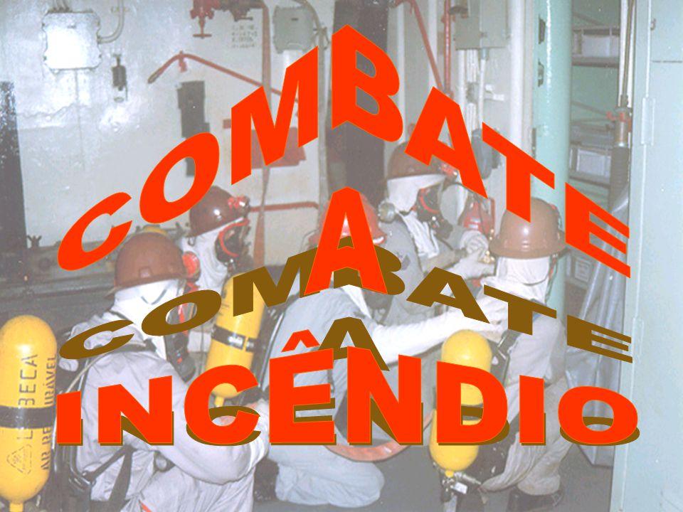 Agentes Extintores 3.CO 2 - Pode ser utilizado em incêndios das classes A,B e C.