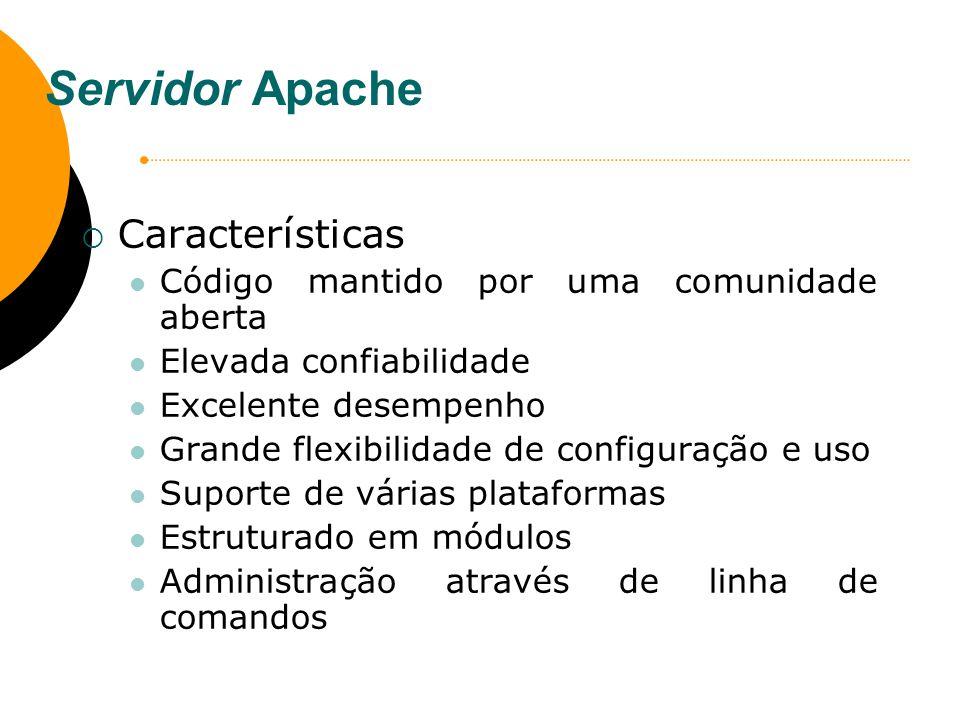 Referências Bibliográficas MOTA, F.J. E. Linux e seus servidores.