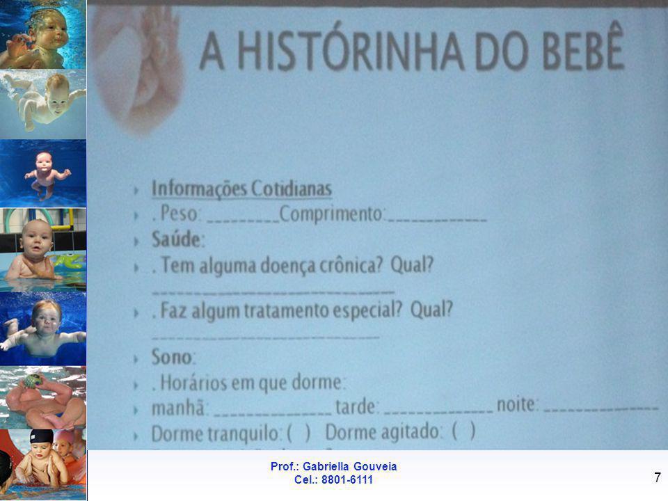 Prof.: Gabriella Gouveia Cel.: 8801-6111 7