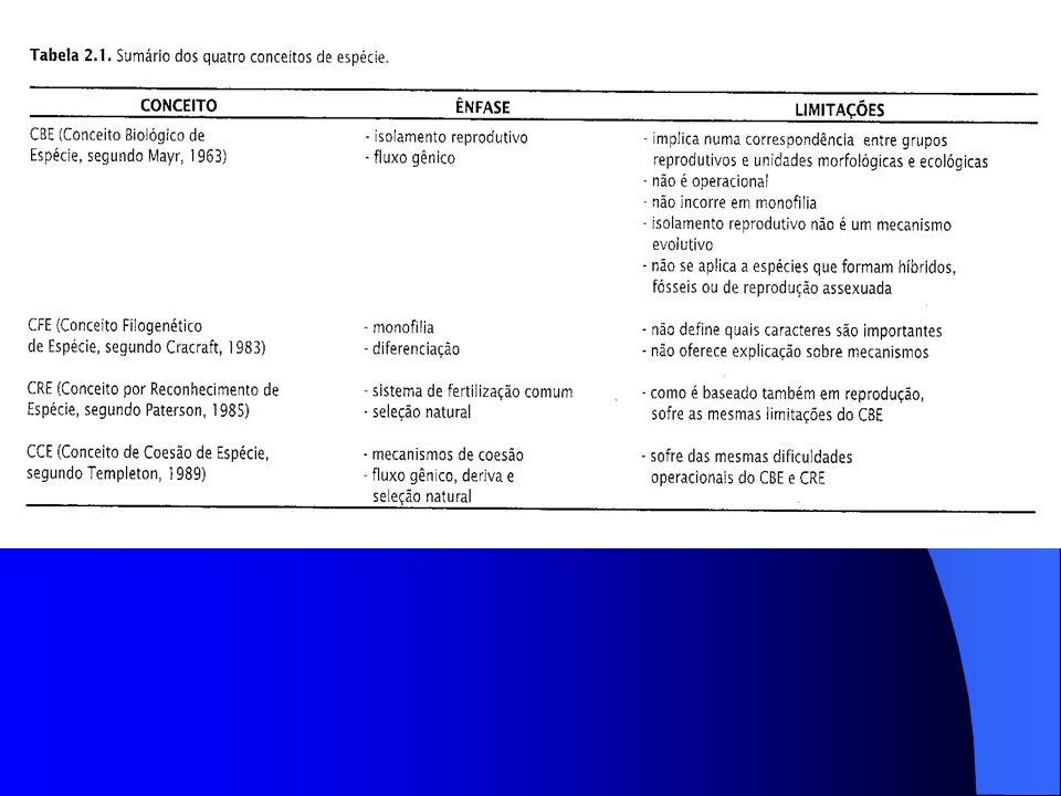 11.Variação nas taxas de especiação.