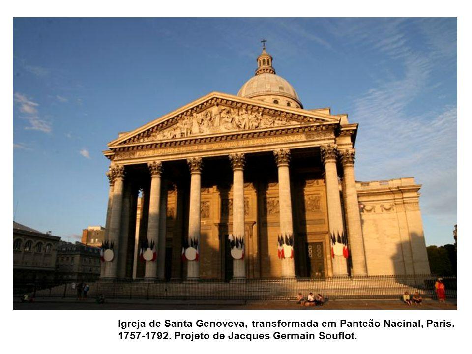 Igreja de Santa Genoveva, transformada em Panteão Nacinal, Paris.