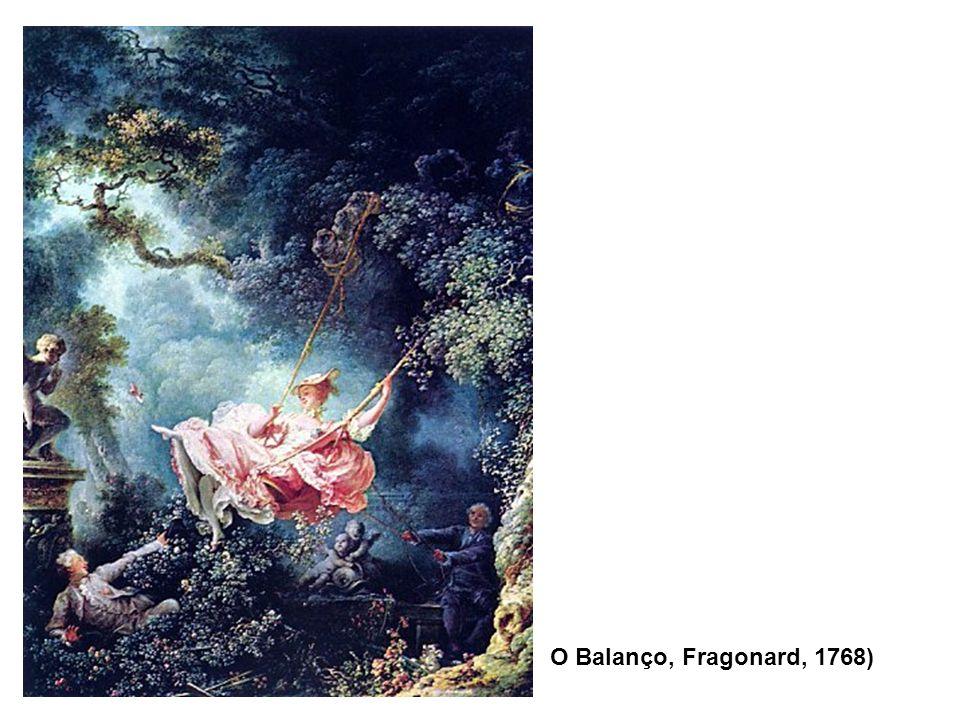 O Balanço, Fragonard, 1768)