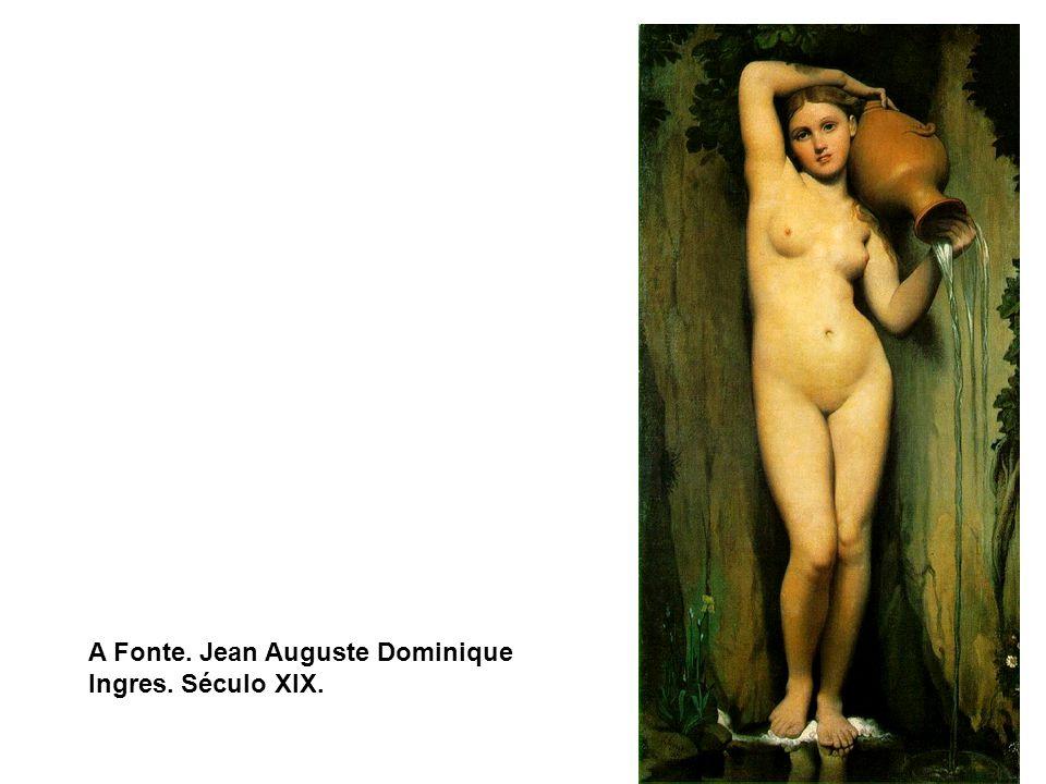 O Jardim das Delícias, Hieronymus Bosch. 1500 A Fonte. Jean Auguste Dominique Ingres. Século XIX.