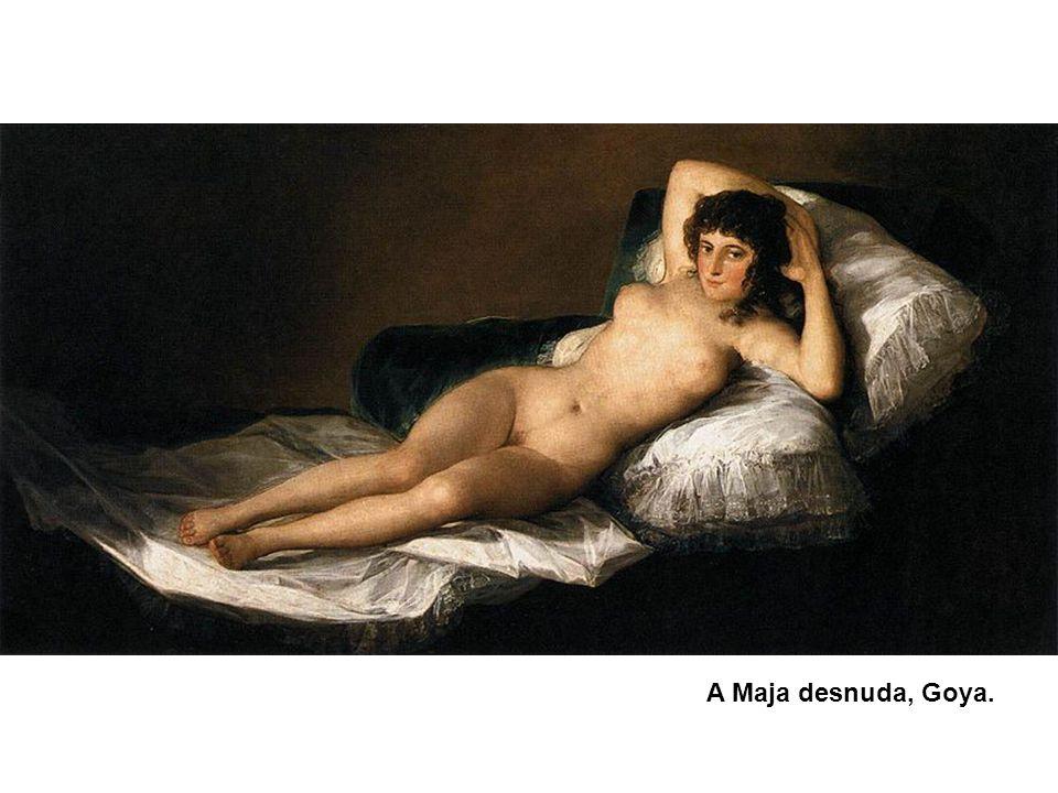 A Maja desnuda, Goya.