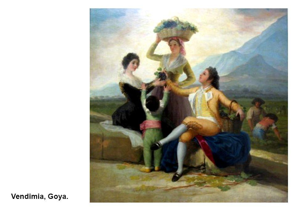 Vendimia, Goya.