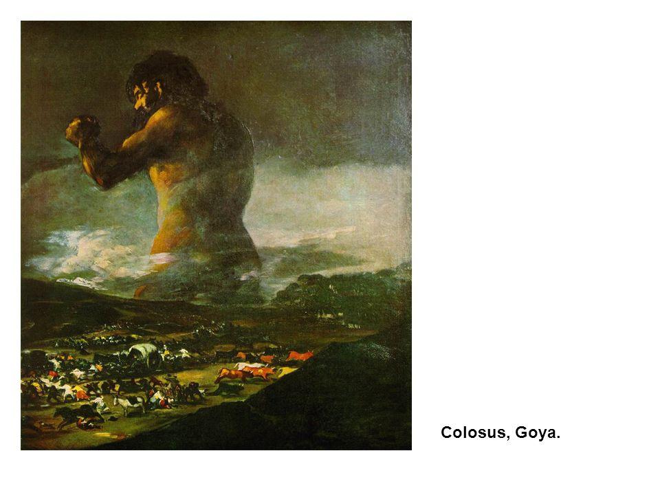 Colosus, Goya.