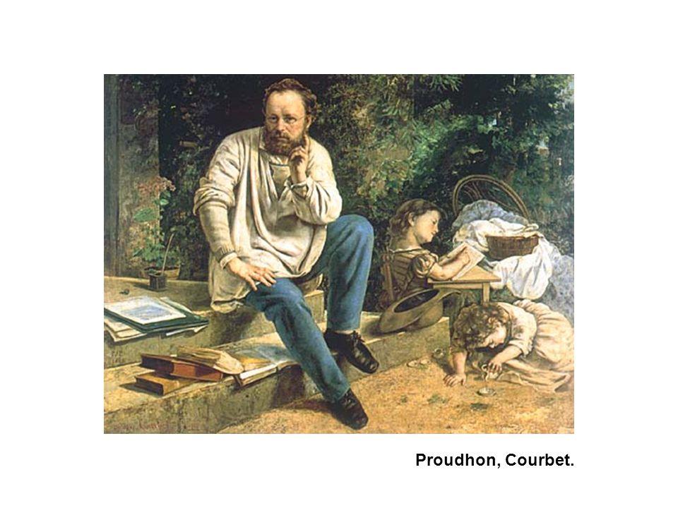 Proudhon, Courbet.