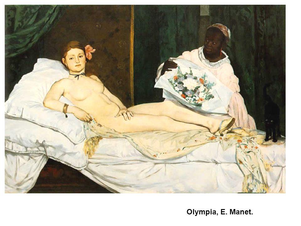 Olympia, E. Manet.