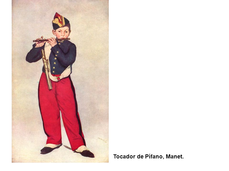 Tocador de Pífano, Manet.