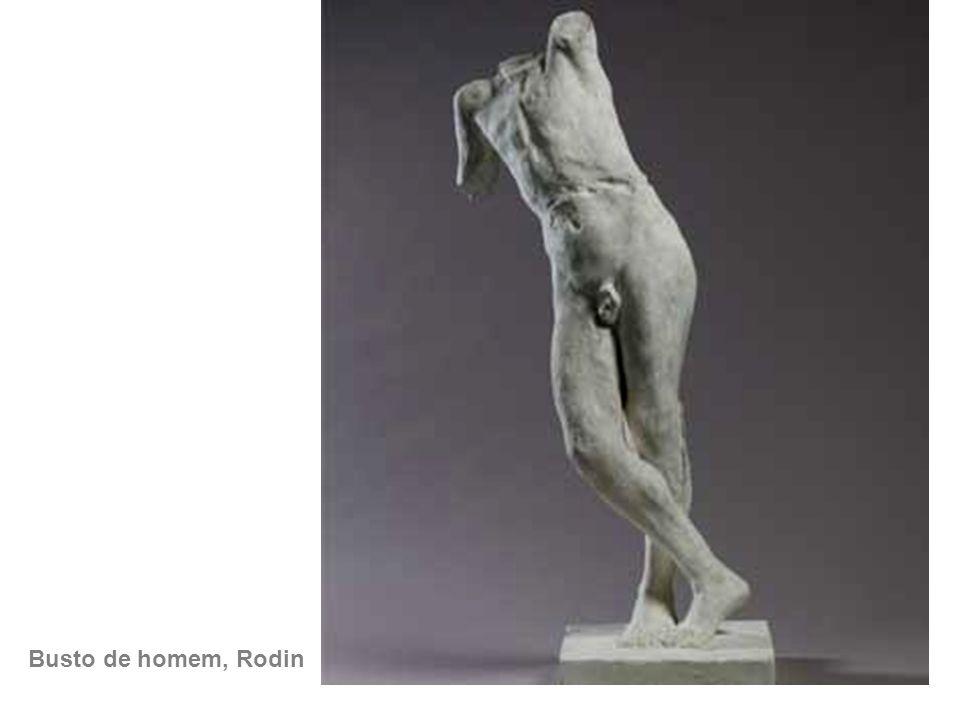Busto de homem, Rodin