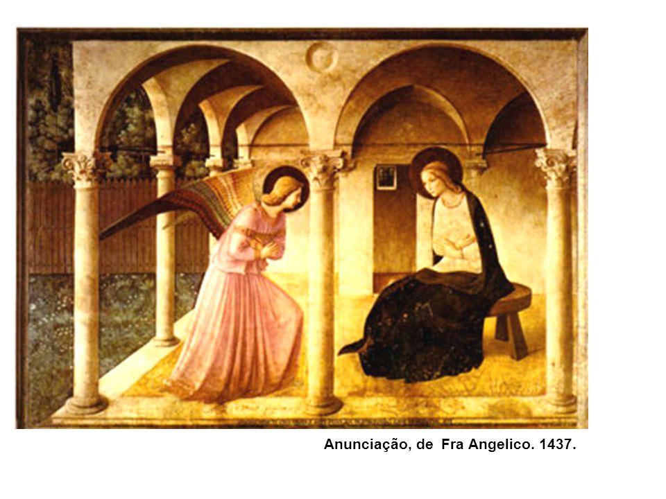 Anunciação, de Fra Angelico. 1437.