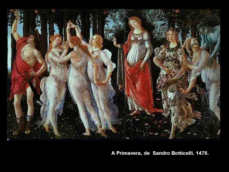 A Primavera, de Sandro Botticelli. 1478.