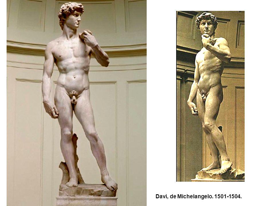 Davi, de Michelangelo. 1501-1504.