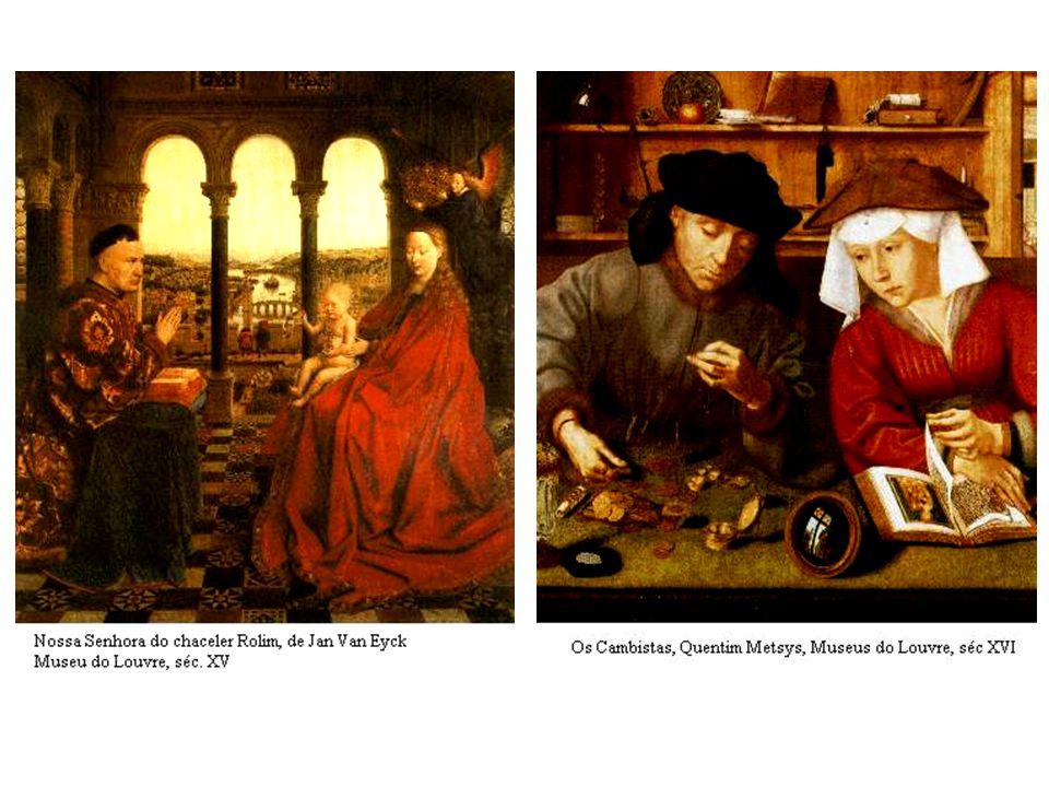 O casal Arnolfini, Jan Van Eyck. 1434 Homem de Turbante Vermelho, Jan Van Eyck. 1433