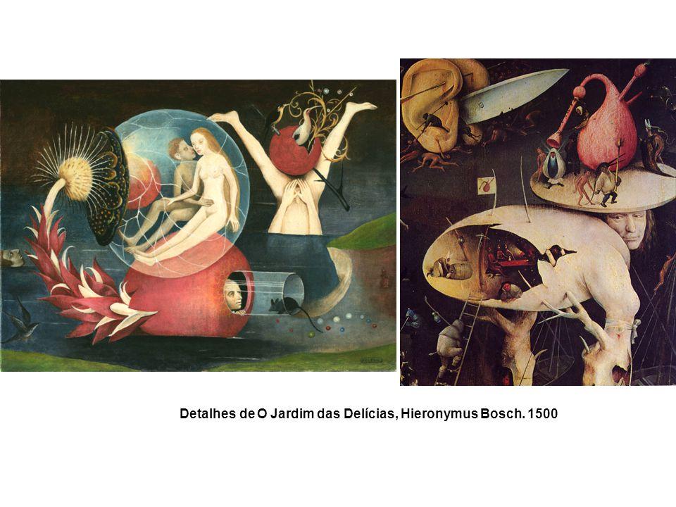 Detalhes de O Jardim das Delícias, Hieronymus Bosch. 1500