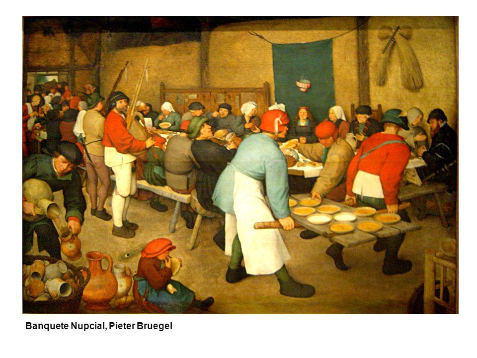 Banquete Nupcial, Pieter Bruegel