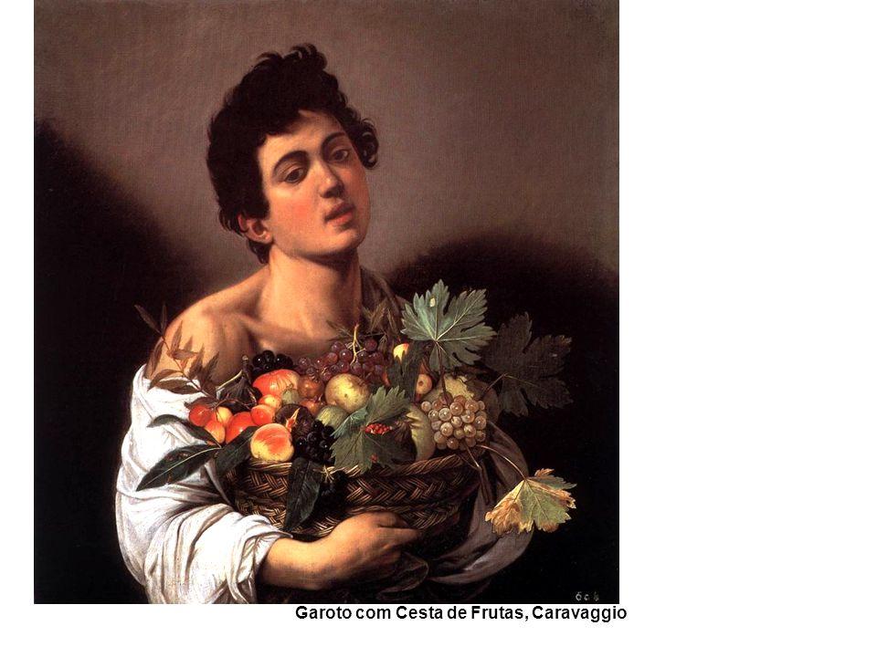 Garoto com Cesta de Frutas, Caravaggio