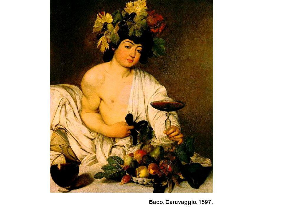 Baco, Caravaggio, 1597.