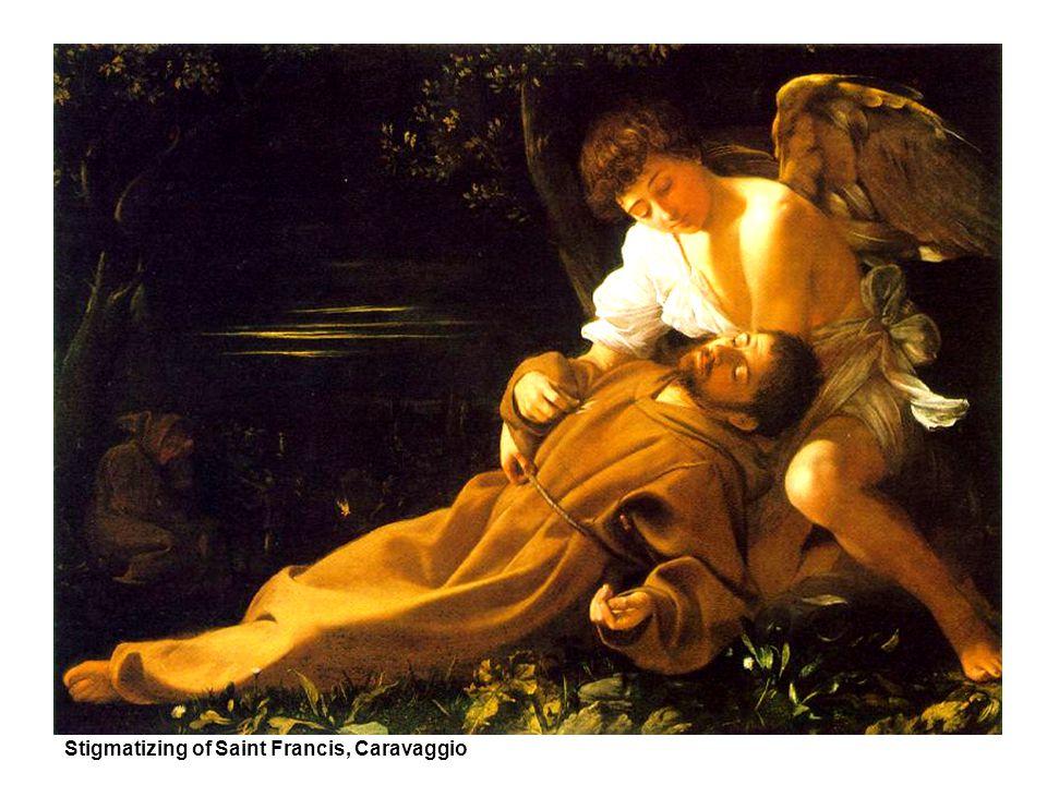 Stigmatizing of Saint Francis, Caravaggio