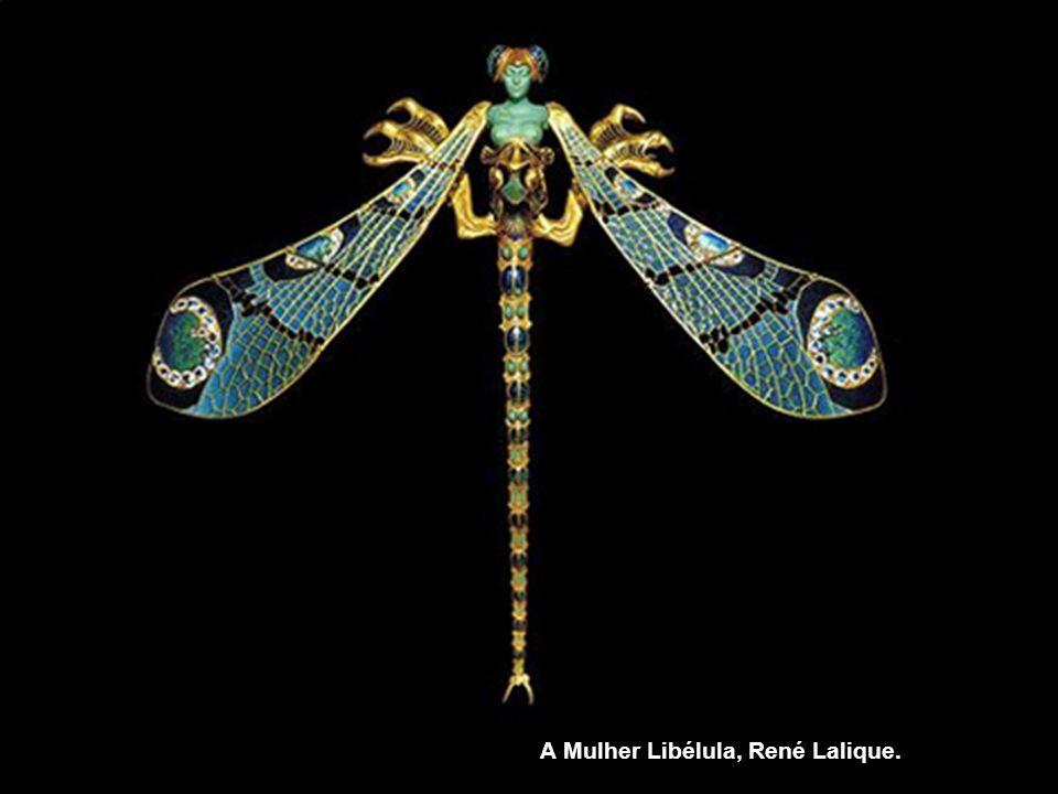 A Mulher Libélula, René Lalique.