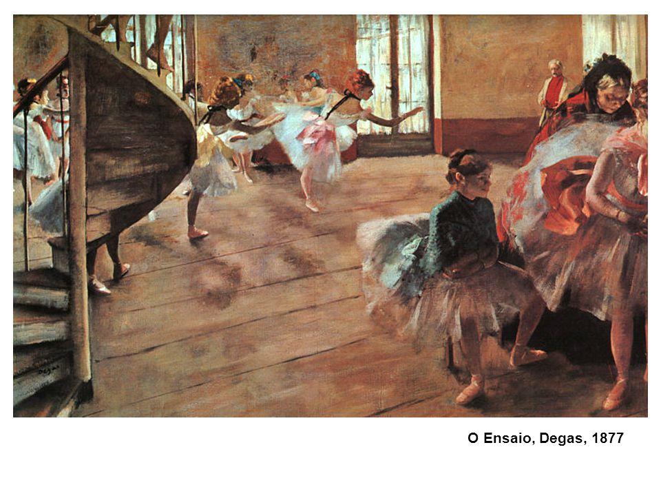 O Ensaio, Degas, 1877