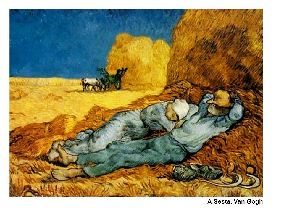 A Sesta, Van Gogh