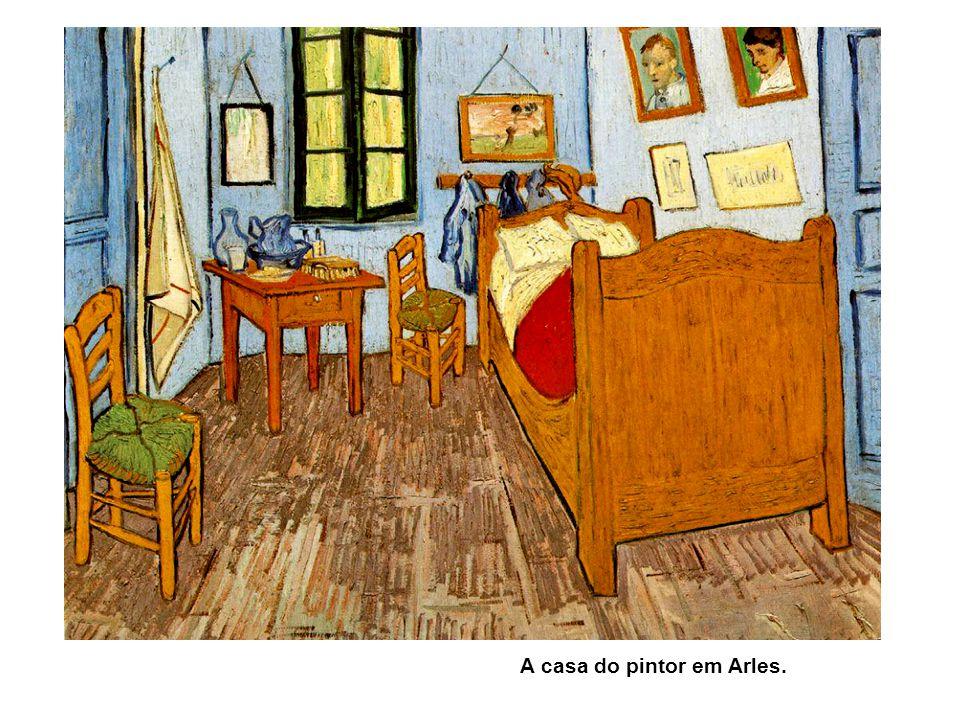 A casa do pintor em Arles.