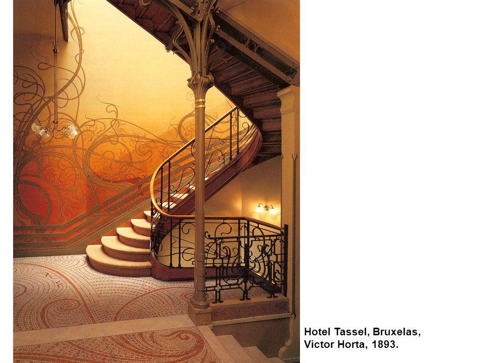 Hotel Tassel, Bruxelas, Victor Horta, 1893.