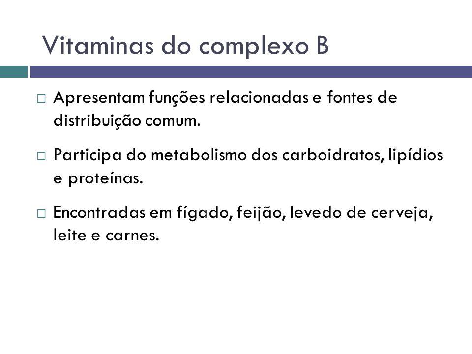 Apresentam funções relacionadas e fontes de distribuição comum. Participa do metabolismo dos carboidratos, lipídios e proteínas. Encontradas em fígado