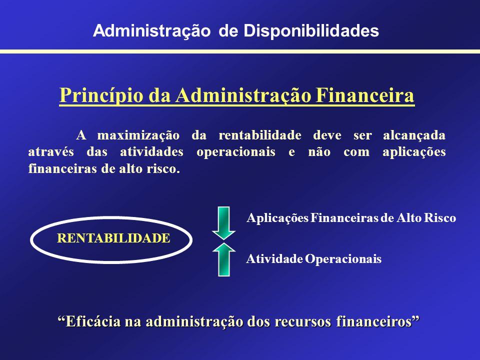 O que são disponibilidades? Numerário mantido em caixa; Saldo bancário de livre movimentação; Aplicações financeiras de liquidez imediata. Disponibili