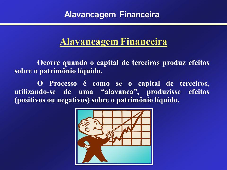 Estrutura de Capital Alavancagem Financeira O capital é um fundo de valores ou conjunto de bens, créditos e débitos colocados à disposição da empresa,