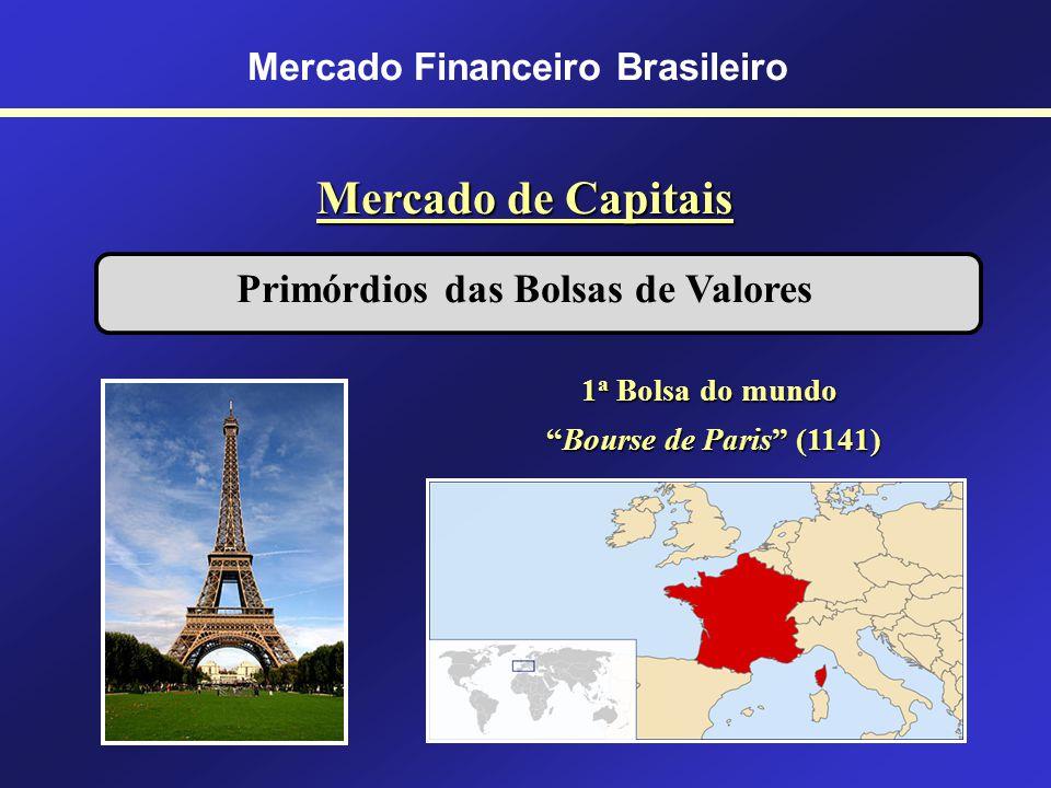 Mercado Financeiro Brasileiro Mercado de Capitais Conceito de Bolsa de Valores São instituições civis sem fins lucrativos, sendo seu patrimônio repres