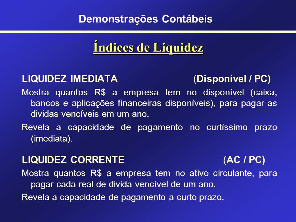 Análise das Demonstrações Contábeis Ênfase no Balanço Patrimonial (BP) e na Demonstração de Resultados do Exercício (DRE) BP Situação Financeira BP +
