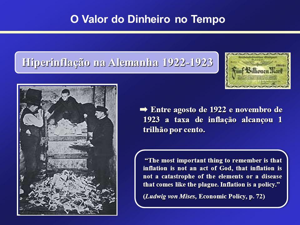A inflação atingiu níveis estratosféricos. Entre 1913 e 1917 o preço da farinha triplicou, o do sal quintuplicou e o da manteiga aumentou mais de oito