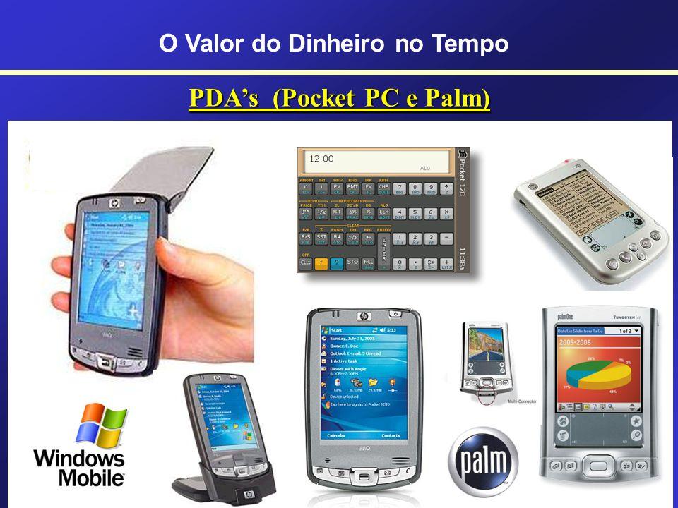 HP-12C Prestige HP-12C Gold HP-12C Platinum Série 25 anos O Valor do Dinheiro no Tempo Usando a Calculadora Financeira HP-12c C Curso HP-12c: www.curs