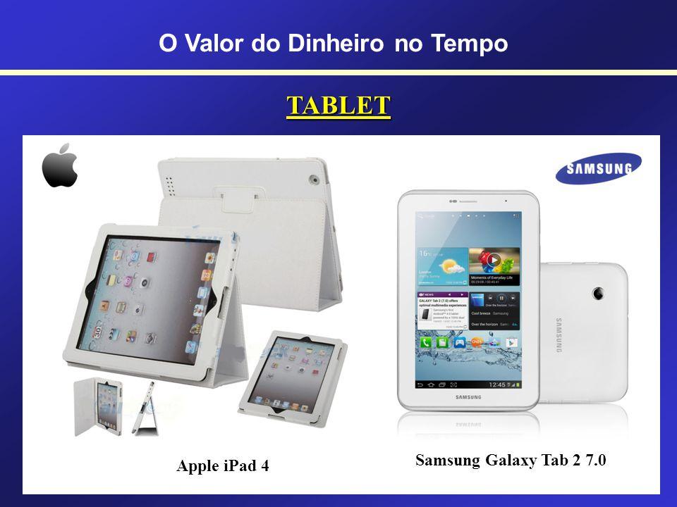 PDAs (Pocket PC e Palm) Pocket PC Palm O Valor do Dinheiro no Tempo