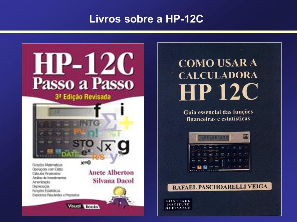 Calculadoras Financeiras Concorrentes Utilizando a HP-12C PROCALC FN1200C
