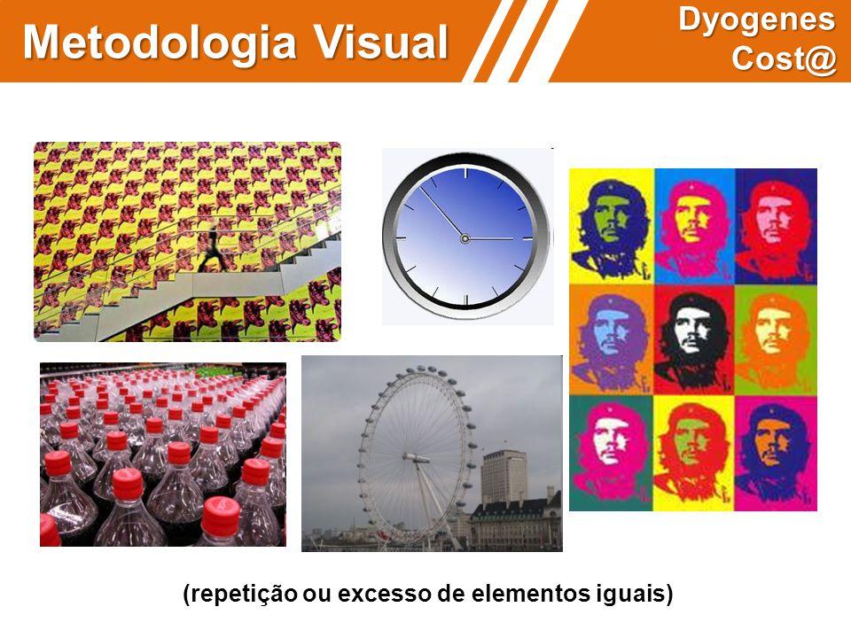 Metodologia Visual Dyogenes Cost@ (repetição ou excesso de elementos iguais)