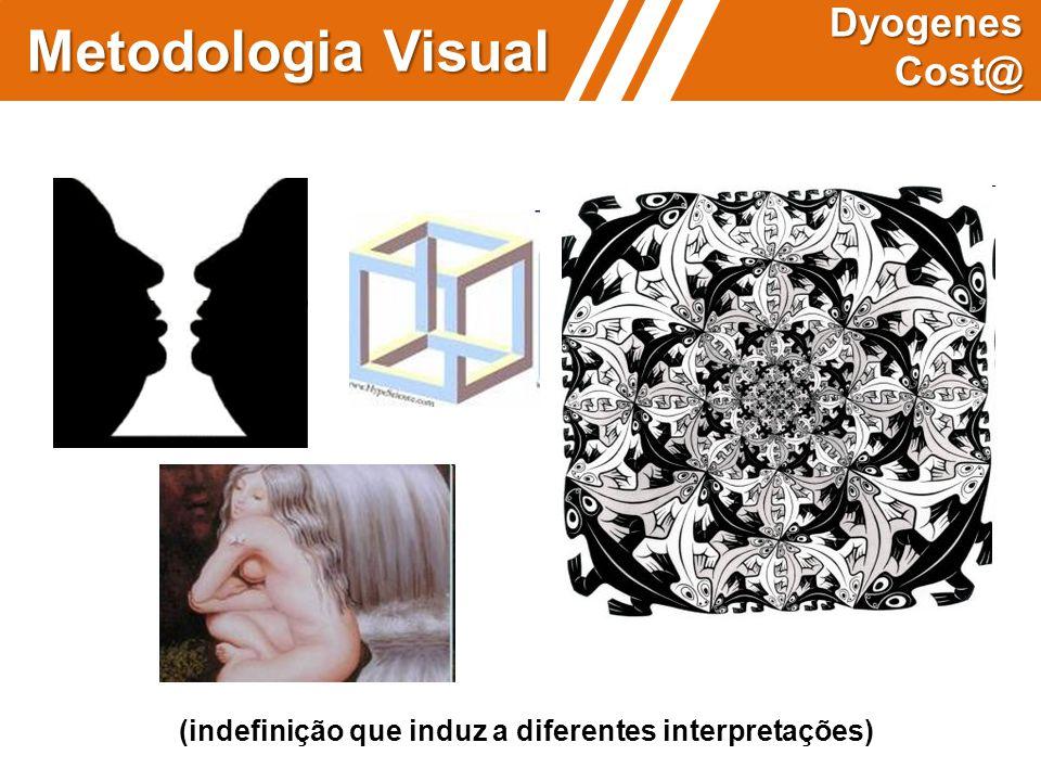 (indefinição que induz a diferentes interpretações) Metodologia Visual Dyogenes Cost@